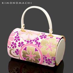 (七五三◆最大20%OFF 11/21 17:59迄)お子様用 和装バッグ「ピンク 古典花柄」お子様小物 七五三 和装バッグ 卒業式の袴に