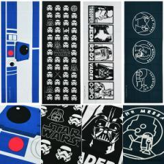 スター・ウォーズ 手ぬぐい「R2-D2、帝国軍、STAR WARS」 手拭い 和雑貨 STAR WARS