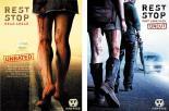 2P レストストップ(2枚セット)デッドアヘッド・2 ドント・ルック・バック 中古DVD ジェイミー・アレクサンダー ジョーイ・メンディシーノ