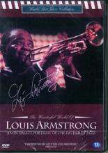 LOUIS ARMSTRONG 中古DVD ルイ・アームストロング セル専用