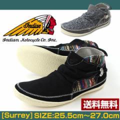 即納 あす着 送料無料 インディアン スニーカー スリッポン メンズ 靴 Indian IND-11308