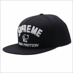 (2017新作・新品)SUPREME(シュプリーム) High Protein 5-Panel (5パネルキャップ) BLACK 265-000923-011+【新品】(ヘッドウェア)