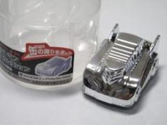バットマン ビーグルコレクション バットモービル シルバー 缶を回るプルバックカー