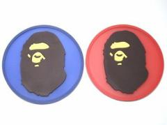 APE 大猿 コースター 青&赤 セット