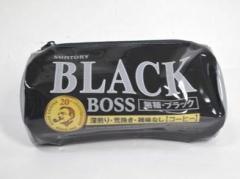 BOSS 缶型ポーチ BLACK
