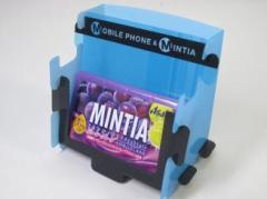 MINTIA 携帯とミンティアが立つスタンド skyblue