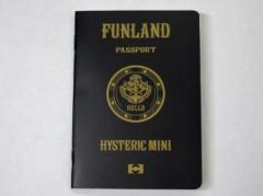 ヒステリックグラマー ミニのパスポートノート