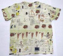 UT ユニクロ バスキア 全面Tシャツ L