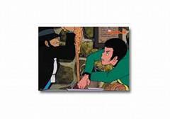 YA ルパン三世 カリオストロ ビジュアルマット「パスタ奪い合い」