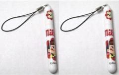 ペコちゃん Milky ストラップ ボールペン 2点セット