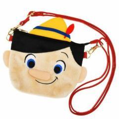 98889ae238b46 ディズニーストア限定 スマポシェ ぬいぐるみ風 ピノキオ