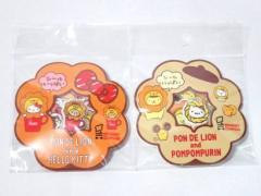ZAK サンリオ キティ ポムポムプリン × ミスド シールセット