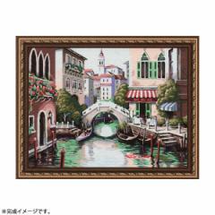 【送料無料】パズル絵画 絵具・筆付き F120