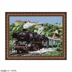 【送料無料】パズル絵画 絵具・筆付き F063