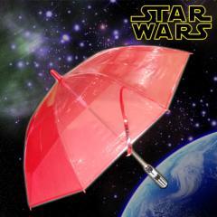 【同梱不可】スターウォーズ(STAR WARS) ライトセイバー傘 レッド SW-056