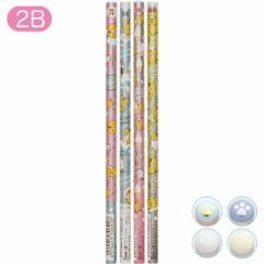 (3) ころころコロニャ クリームみたいになりたいニャテーマ 鉛筆 (2B) 4本セット PN17101