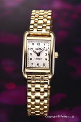 COACH コーチ 腕時計 レディース 14502293 トンプソン オフホワイト×ゴールド