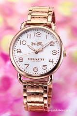 コーチ 腕時計 レディース COACH デランシー ローズゴールド 14502497