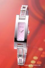 グッチ 腕時計 GUCCI 3900-Series (3900シリーズ) ピンクパール(GGパターン) YA039547