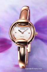 GUCCI グッチ 腕時計 レディース 1400シリーズ ホワイトパール バングル YA014519