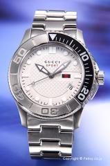 グッチ 腕時計 メンズ GUCCI YA126252 クラシックスポーツ マットホワイト