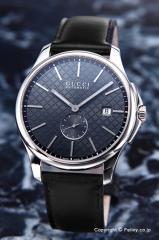 グッチ 腕時計 メンズ GUCCI YA126319 G-タイムレス オートマティック アンスラサイト