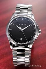 グッチ GUCCI 腕時計 メンズ G-Timeless Collection ブラック YA126457