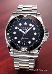グッチ GUCCI 腕時計 メンズ Dive Collection (ダイヴ コレクション) ブラック YA136208