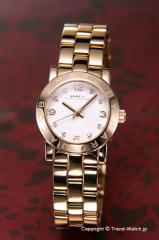 マークバイマークジェイコブス 腕時計 レディース MBM3057 スモール エイミー クリスタル ホワイト