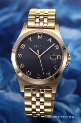 マークバイマークジェイコブス 腕時計 レディース The Slim (スリム) ブラック×ゴールド MBM3315