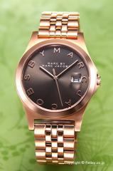 マークバイマークジェイコブス 腕時計 MBM3350 The Slim (スリム) ダーティーマティーニ×ローズゴールド