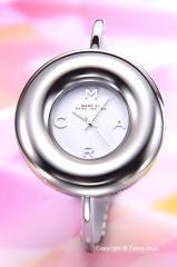 マークバイマークジェイコブス レディース腕時計 Donut Bangle (ドーナッツ バングル) シルバー MBM3395