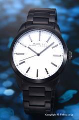 マークバイマークジェイコブス  MARCJACOBS メンズ腕時計 Dillon(ディロン) ホワイト×ブラック MBM5089