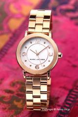 マークジェイコブス 腕時計 MARC JACOBS ライリー ローズゴールド レディース MJ3474