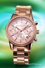 マイケルコース MICHAEL KORS 腕時計 Ritz Chronograph MK6357