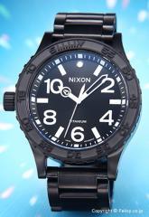 NIXON ニクソン 腕時計 メンズ 51-30 TI オールブラック A351001 【A351-001】