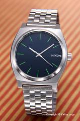 NIXON ニクソン 腕時計 A0451981 (A045-1981) タイムテラー ミッドナイトブルー/ボルトグリーン