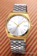 NIXON ニクソン 腕時計 A0452062 (A045-2062) タイムテラー ゴールド/シルバー/シルバー