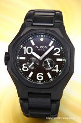 NIXON ニクソン メンズ腕時計 タンジェント マットブラック/サープラス A3971042