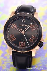 ニクソン NIXON 腕時計 レンジャー レザー ローズゴールド/ガンメタルサンレイ A5082308