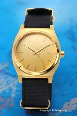 ニクソン 腕時計 NIXON タイムテラー ゴールド/ブラック A045513