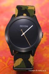 ニクソン 腕時計 NIXON Mod Black / Green Camo A3481629