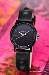 ニクソン NIXON 腕時計 レディース Kenzi Leather All Black / Studded A3981669