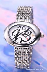 ヴィヴィアンウエストウッド 腕時計 エリプス ホワイト レディース VV014WHSL