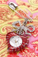 Vivienne Westwood ヴィヴィアン ウエストウッド レディースアクセサリーウォッチ Heart (ハート) クリップ VV018WH