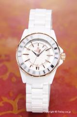 ヴィヴィアンウエストウッド 腕時計 レディース ナイツブリッジ2 ホワイト×ローズゴールド VV088RSWH
