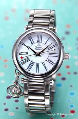 Vivienne Westwood ヴィヴィアンウエストウッド VV006PSLSL 腕時計 レディース オーブ ホワイトパール×シルバー