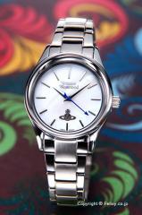 Vivienne Westwood ヴィヴィアンウエストウッド VV111SL 腕時計 レディース ホロウェイ ホワイトパール