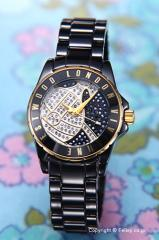 Vivienne Westwood ヴィヴィアン ウエストウッド レディース腕時計 VV088SGDBK スローン ショウピース ブラック×ゴールド