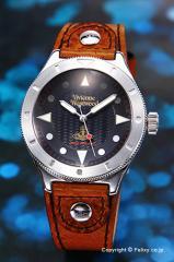 ヴィヴィアンウエストウッド 腕時計 Smithfield (スミスフィールド) ブラック VV160BKBR